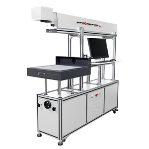 CO2 glasses tube laser marking machine