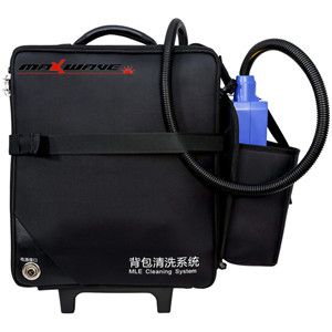 Portable backpack laser cleaning machine